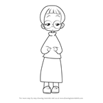 How to Draw Natsumi Sato from Ojamajo Doremi