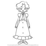 How to Draw Nobuko Yokokawa from Ojamajo Doremi