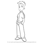 How to Draw Takeshi Hasebe from Ojamajo Doremi