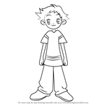 How to Draw Yuji Sagawa from Ojamajo Doremi