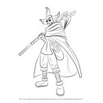 How to Draw Sogeking from One Piece