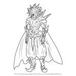 How to Draw Boros from One-Punch Man