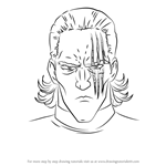 How to Draw King from One-Punch Man