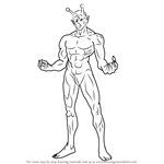How to Draw Vaccine Man from One-Punch Man