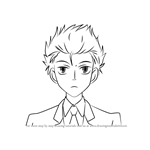 How to Draw Hikaru Hitachiin from Ouran High School Host Club