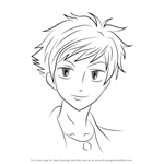 How to Draw Kaoru Hitachiin from Ouran High School Host Club