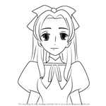 How to Draw Renge Houshakuji from Ouran High School Host Club