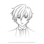How to Draw Tamaki Suoh from Ouran High School Host Club