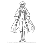 How to Draw Jack Vessalius from Pandora Hearts