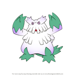 How to Draw Abomasnow from Pokemon