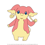 How to Draw Audino from Pokemon