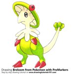 How to Draw Breloom from Pokemon