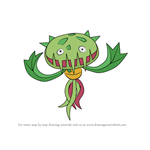 How to Draw Carnivine from Pokemon