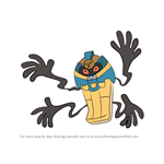 How to Draw Cofagrigus from Pokemon