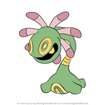 How to Draw Cradily from Pokemon