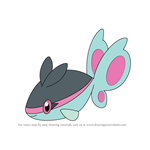 How to Draw Finneon from Pokemon