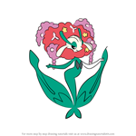 How to Draw Florges from Pokemon