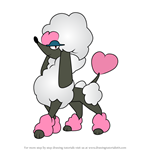 How to Draw Furfrou - Heart Style from Pokemon