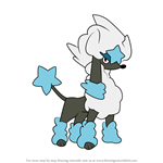 How to Draw Furfrou - Star Style from Pokemon