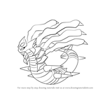 How to Draw Giratina from Pokemon