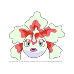 How to Draw Goldeen from Pokemon