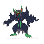How to Draw Grimmsnarl from Pokemon