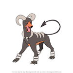 How to Draw Houndoom from Pokemon