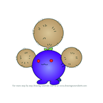 How to Draw Jumpluff from Pokemon