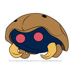 How to Draw Kabuto from Pokemon