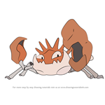 How to Draw Kingler from Pokemon