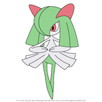 How to Draw Kirlia from Pokemon
