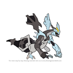 How to Draw Kyurem from Pokemon