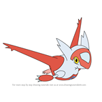 How to Draw Latias from Pokemon