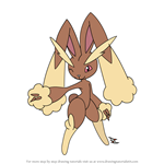 How to Draw Lopunny from Pokemon