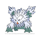 How to Draw Mega Abomasnow from Pokemon