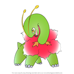 How to Draw Meganium from Pokemon
