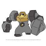 How to Draw Melmetal from Pokemon