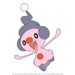 How to Draw Mime Jr. from Pokemon