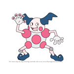 How to Draw Mr. Mime from Pokemon