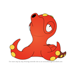 How to Draw Octillery from Pokemon