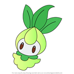 How to Draw Petilil from Pokemon