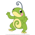 How to Draw Politoed from Pokemon