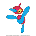 How to Draw Porygon-Z from Pokemon
