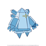How to Draw Regice from Pokemon