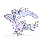 How to Draw Reshiram from Pokemon