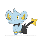 How to Draw Shinx from Pokemon