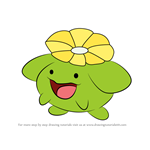 How to Draw Skiploom from Pokemon