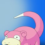 How to Draw Slowpoke from Pokemon