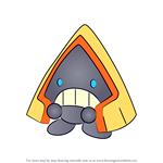 How to Draw Snorunt from Pokemon