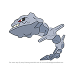 How to Draw Steelix from Pokemon